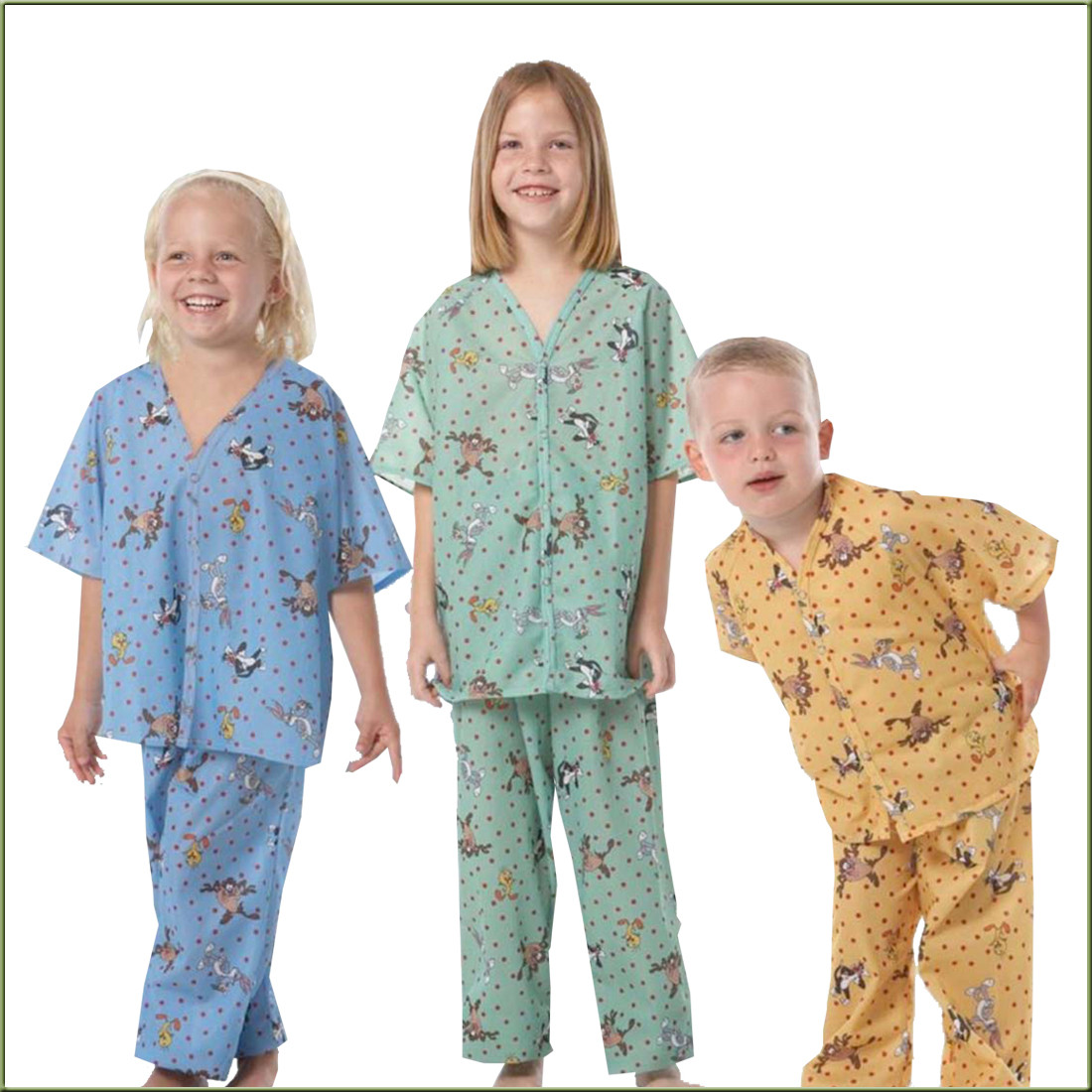 Children\'s Looney Tunes Pajamas - Patient Gowns & PJs - Patient